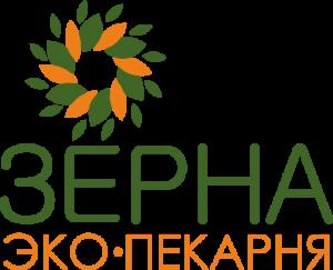 логотип экопекарня зерна